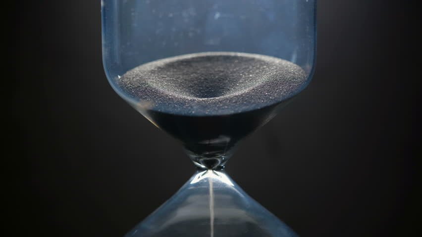 Hourglass. Close up. Zoom in. | Shutterstock HD Video #1024275179