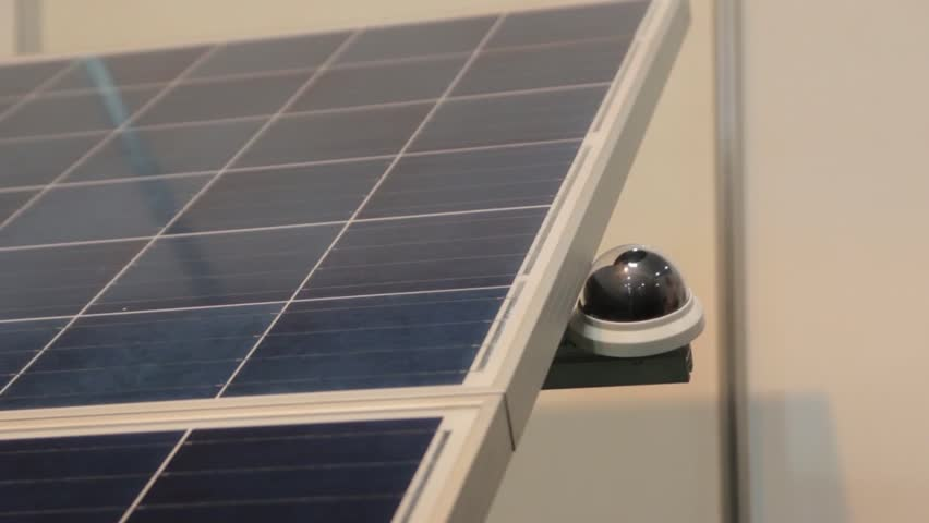 Solar Panel Closeup Tracking | Shutterstock HD Video #1024304759
