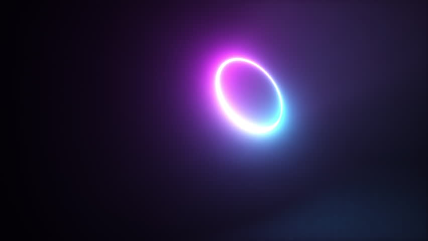 Abstract colorful glowing neon light sphere, laser show, blank space, disco ball, esoteric energy, abstract background, seamless loop 3d animation, ultraviolet spectrum | Shutterstock HD Video #1024315247