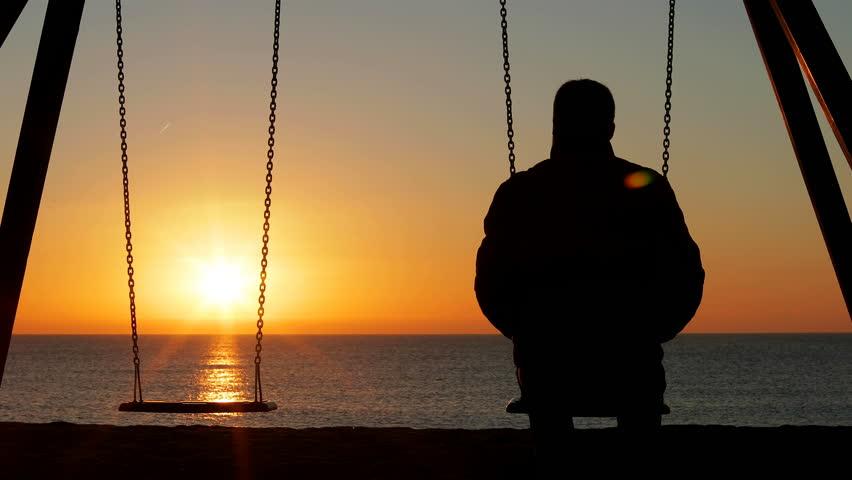Alone man sad Short Sad