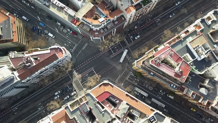 Madrid city aerial #1024407626