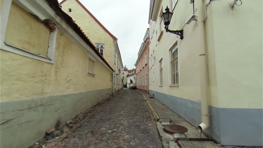 Old Tallinn. Architecture, old houses, streets and neighborhoods. Estonia. #10245473