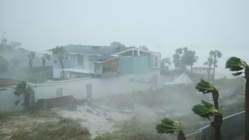 Hurricane Michael Eyewall Winds
