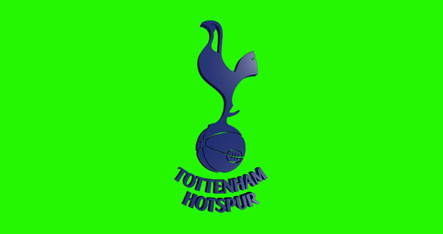 3d Movement Tottenham Hotspur Football Club Logo Editorial Animation