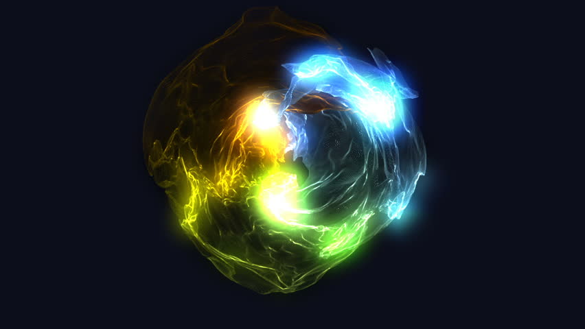 Magic Energy Ball sphere abstract vj visual animation background for different projects and etc...   Shutterstock HD Video #1025102849