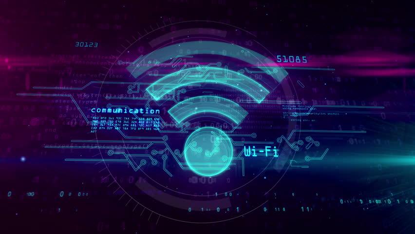 Wifi, Wireless Communication and Hotspot Stock Footage Video (100%  Royalty-free) 1025131469 | Shutterstock
