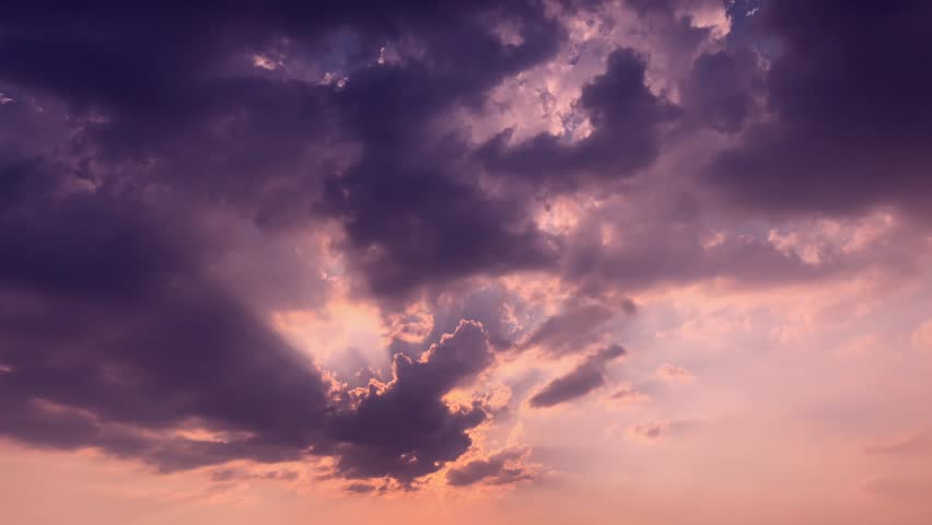 Red purple orange blue pink 4k sunset sky cloud Red purple cloudscape time lapse background Dark red purple sunset sky cloud time lapse 4k evening clouds fast moving away rolling 4k dark sunset clouds Royalty-Free Stock Footage #1025147882