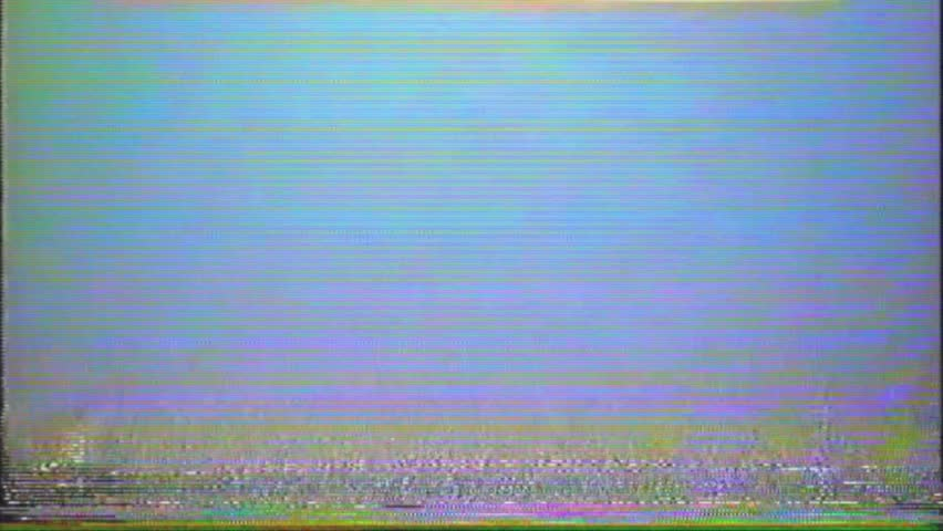 VHS Glitches and Static Noise Background, Light TV Static lines