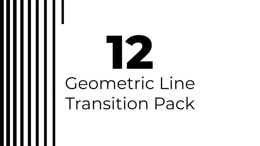12 Geometric Lines Alpha Transition Wipes Masks   Shutterstock HD Video #1025349998