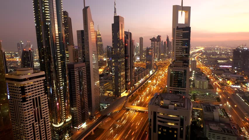 Futuristic Urban Architecture Infrastructure Metropolitan Cityscape Skyline #1025413463
