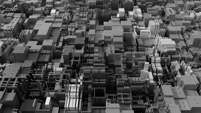 4K abstract modern CPU. Data mining, deep learning AI concept. Seamless loop. | Shutterstock HD Video #1025499659