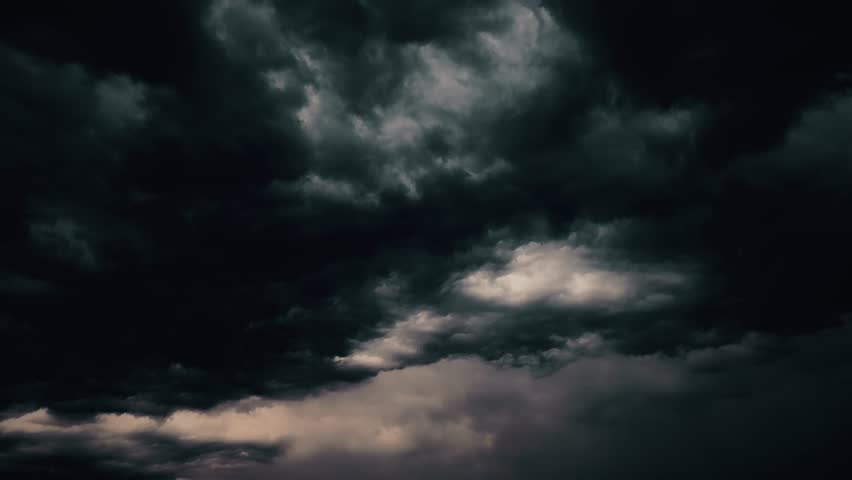 Global warming effect black thunderstorm dramatic rain dark bright puffy fluffy clouds tropical twilight rain amazing 4k abstract cloud backgrounds Realistic lightning strikes rainy day sun rays cloud | Shutterstock HD Video #1025735621