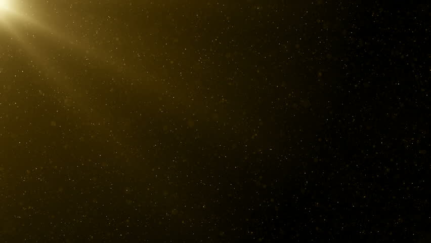 Particles gold bokeh glitter awards dust abstract background loop #1025754158