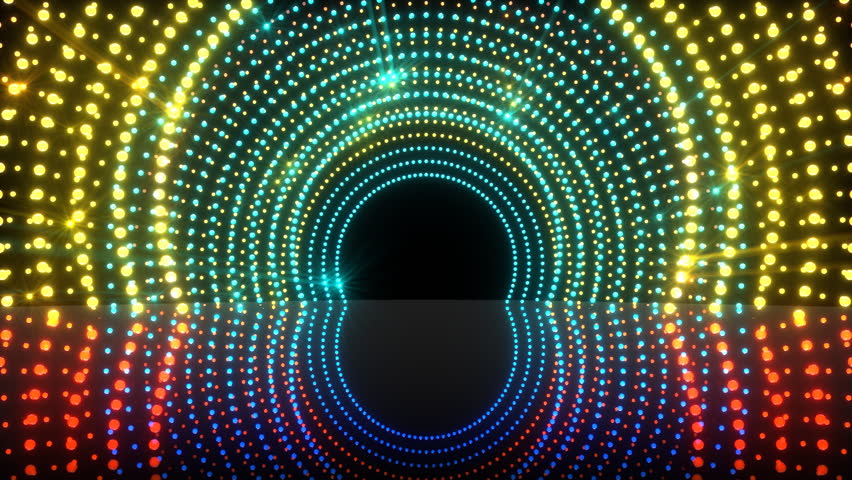 animation of light tunnel stage for your video backgrounds, concert visual performances, presentations, dance parties, music clips, projection mapping, nightclubs, corporate events