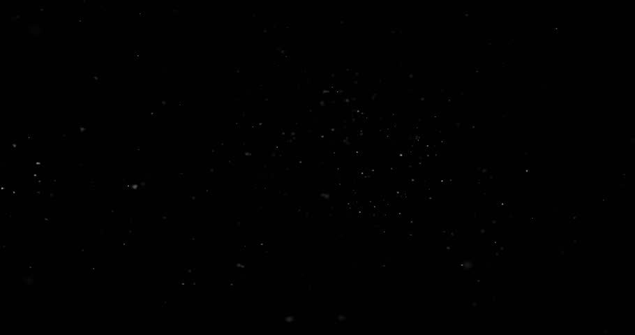 Flying dust particles on a black background | Shutterstock HD Video #1025944883