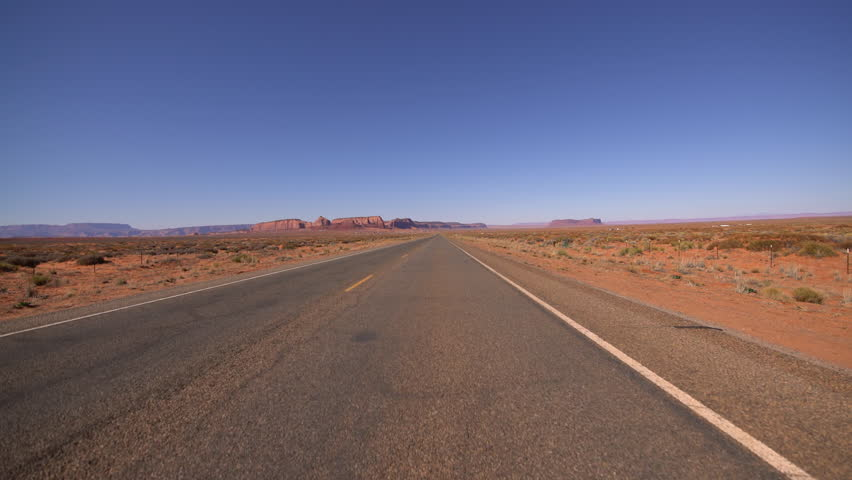 Monument Valley Driving Template Southwest USA | Shutterstock HD Video #1025959853