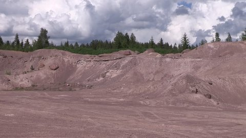 Sandpit in the southern part of Finland