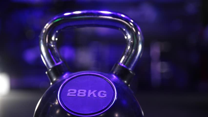 28kg kettle bell | Shutterstock HD Video #1026055847