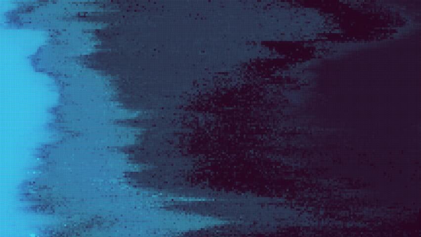 Unique Design Abstract Digital Animation Pixel Noise Glitch Error Video Damage | Shutterstock HD Video #1026132014
