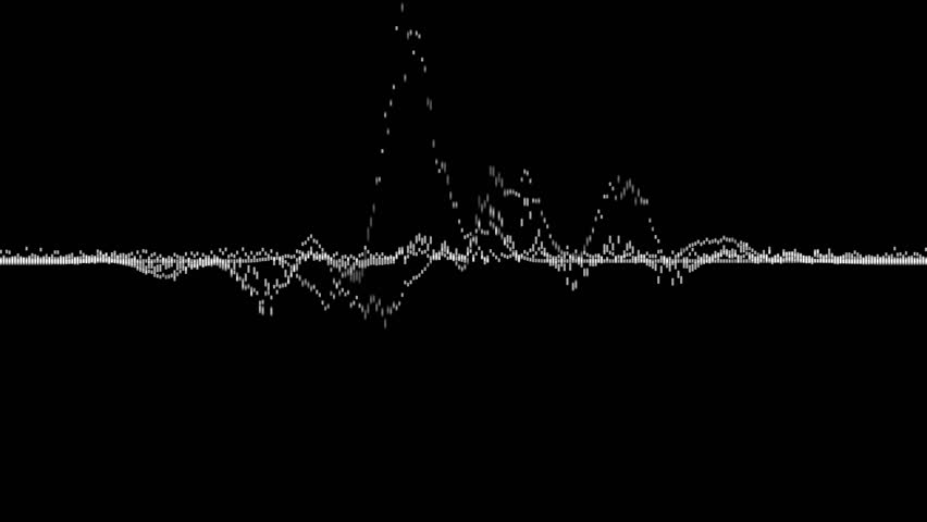 visualization of voice record, artificial intelligence, waveform equalizer and visualization of audio wave #1026190847