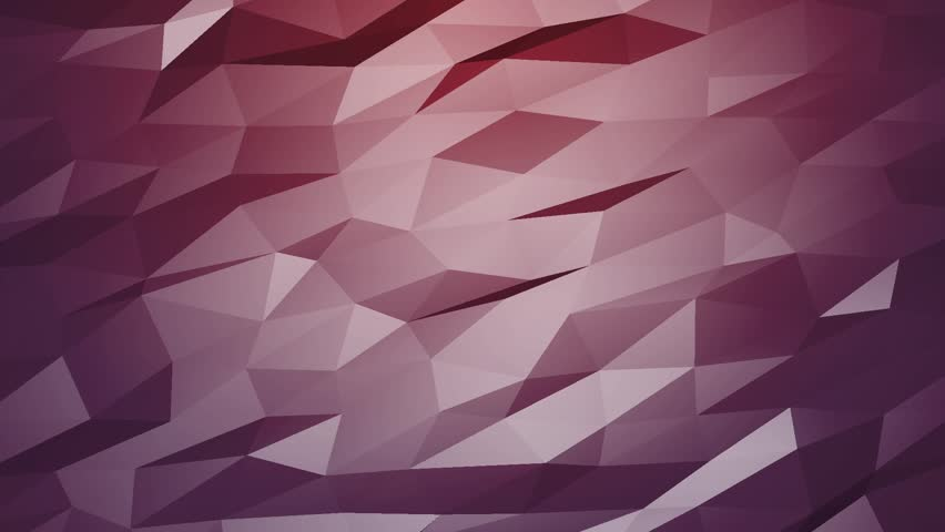Triangle polygons. Computer generated seamless loop geometric background. | Shutterstock HD Video #1026249353