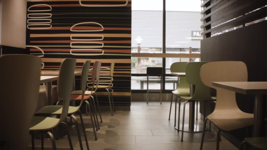 Beverwijk/Netherlands- Jan 16th 2019: McDonald's restaurant interior #1026307808
