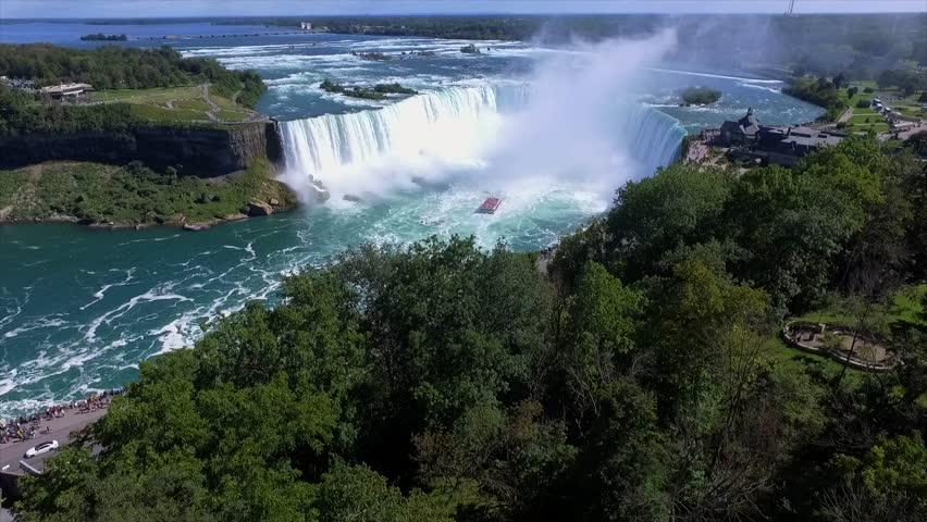 Niagra Falls - Drone Opener 4K