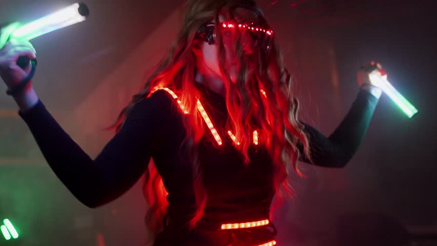 Laser dance show | Shutterstock HD Video #1026418106
