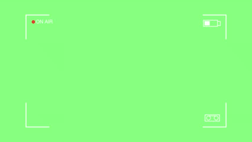 Camcoder frame on the green background    Shutterstock HD Video #1026424028