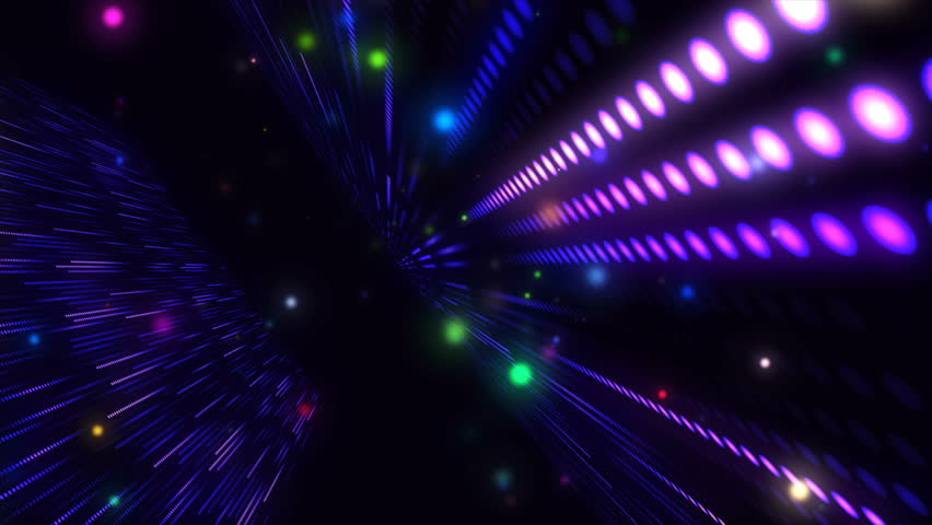 Led Screen animation. Led Wall. Vj disco visual mapping night clubs, led screens motion graphic Matrix animation Hi-Tech background design for your party, disco, concert projects and etc. | Shutterstock HD Video #1026473258