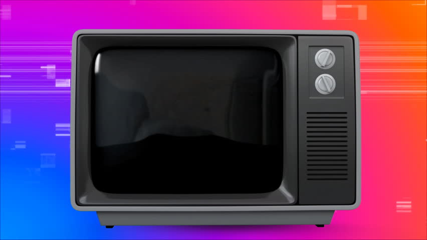 Digital composite of retro TV showing pineapple on screen. There is vintage background with virtual square sizzling | Shutterstock HD Video #1026478511