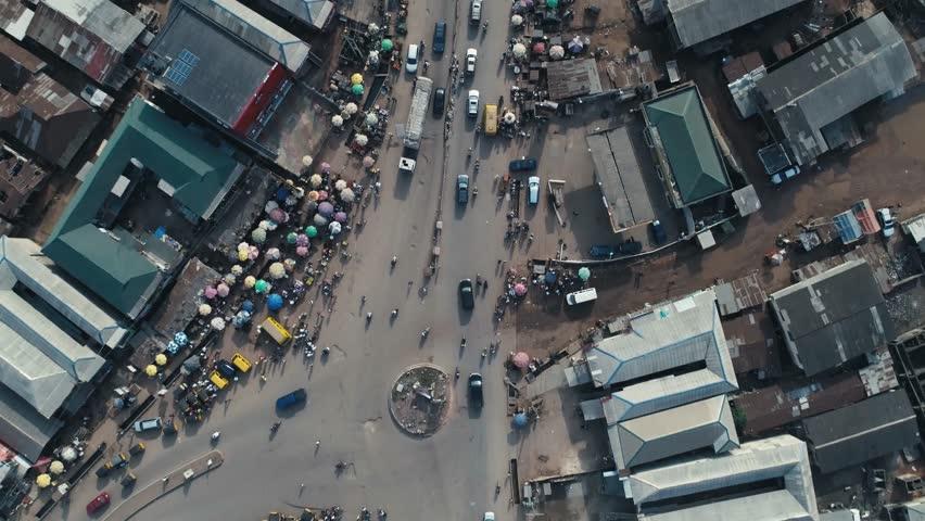 Nigeria Arial view