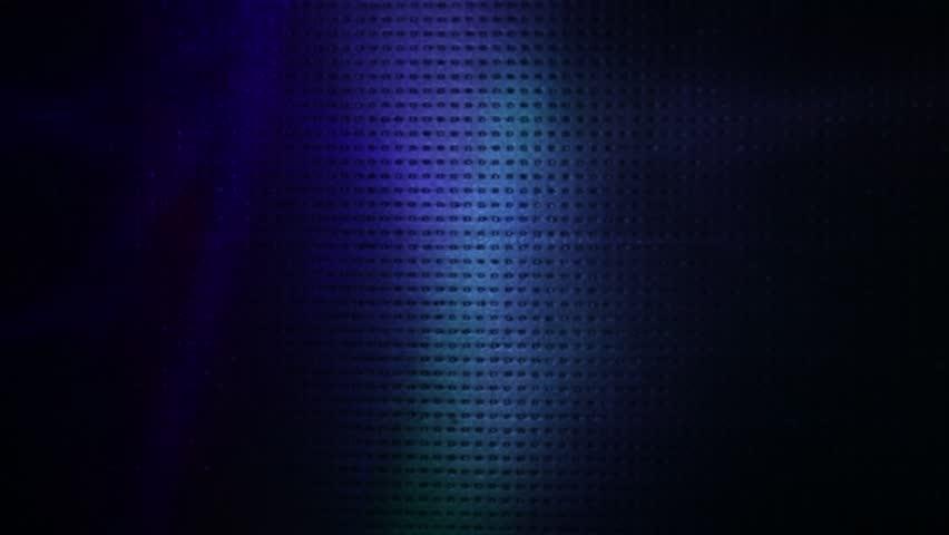 Flying spots of light in dark blue, green and purple colors | Shutterstock HD Video #1026685343