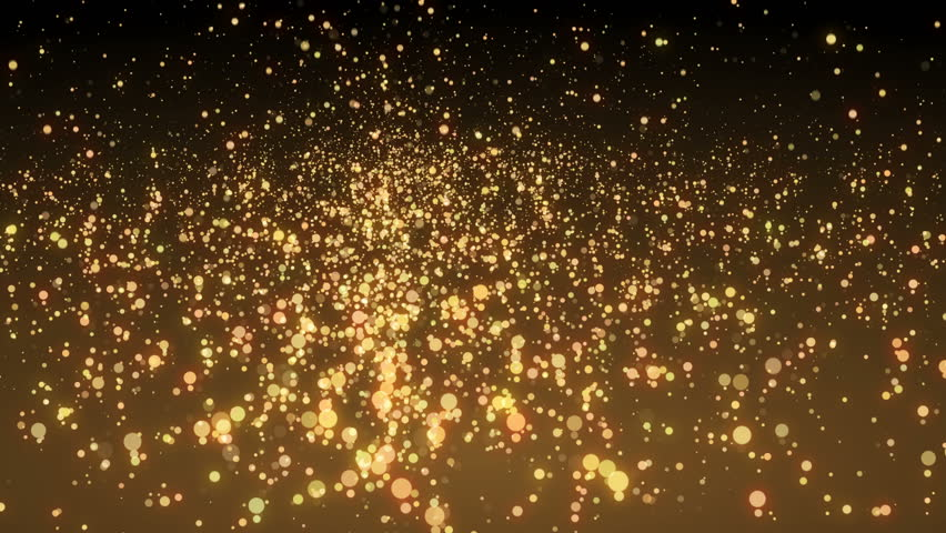 Many glittering swirl particles fly in space, holiday and festive 3d rendering background, computer generated. | Shutterstock HD Video #1026697571