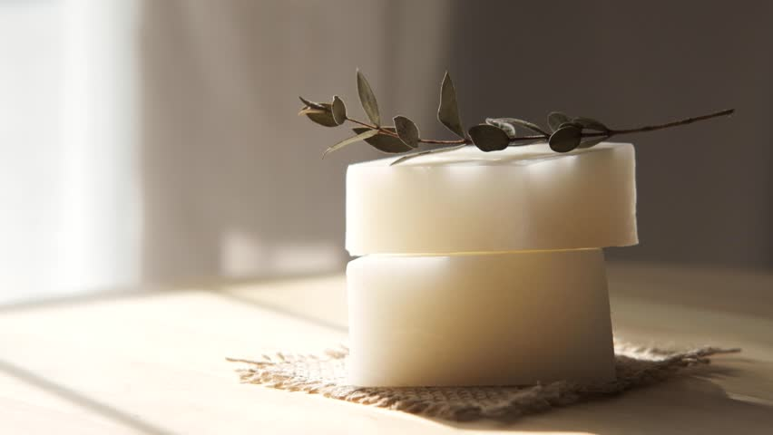 Handmade Spa Soap. Organic Soap making.