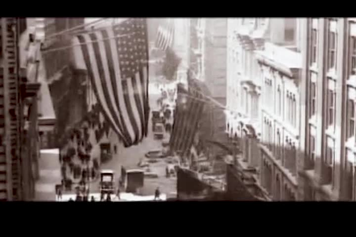 New York, United States of America. October 29, 1929. The big crash of the Wall Street stock exchange in New York.