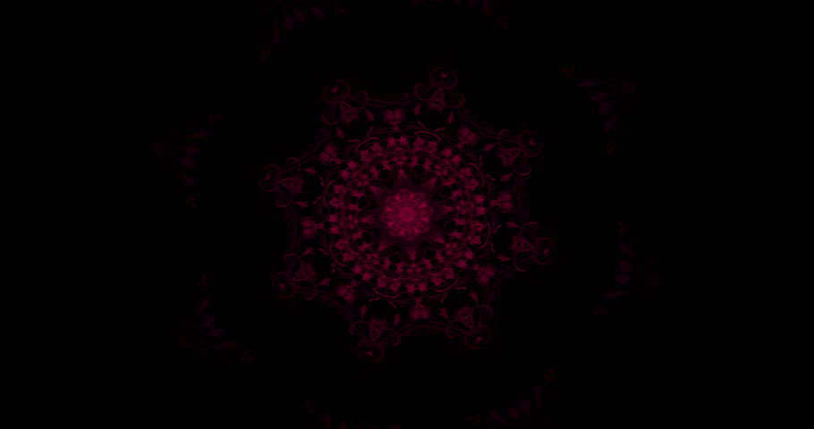Beautiful Red lace sequence patterns on black background | Shutterstock HD Video #1026921989