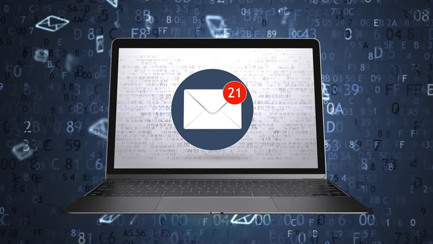 They sent a lot of emails to the mailbox. Spam concept. Green screen 72   Shutterstock HD Video #1026943883