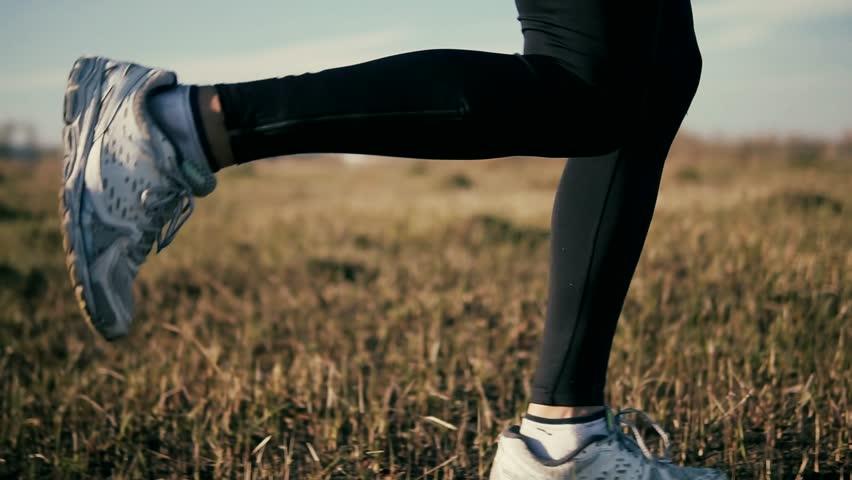 Triathlete Running,Sprinting And Endurance Marathon Workout.Runner Man Fit Athlete Legs Jogging On Trail Ready To Triathlon.Running Man Workout At Sunset.Marathon Runner Jog.Fitness Sport Concept. Royalty-Free Stock Footage #1026984977