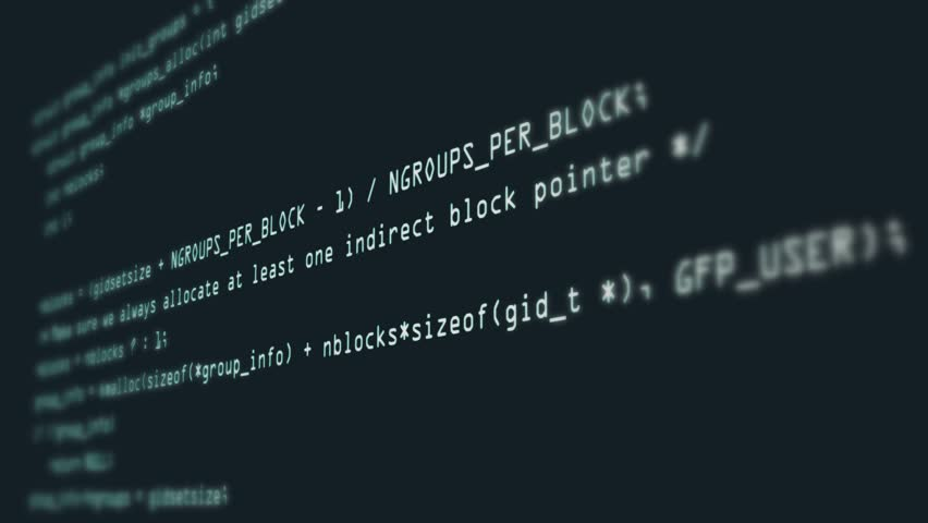 Footage of Programming code abstract technology background for software developer and Computer script concept | Shutterstock HD Video #1026991475