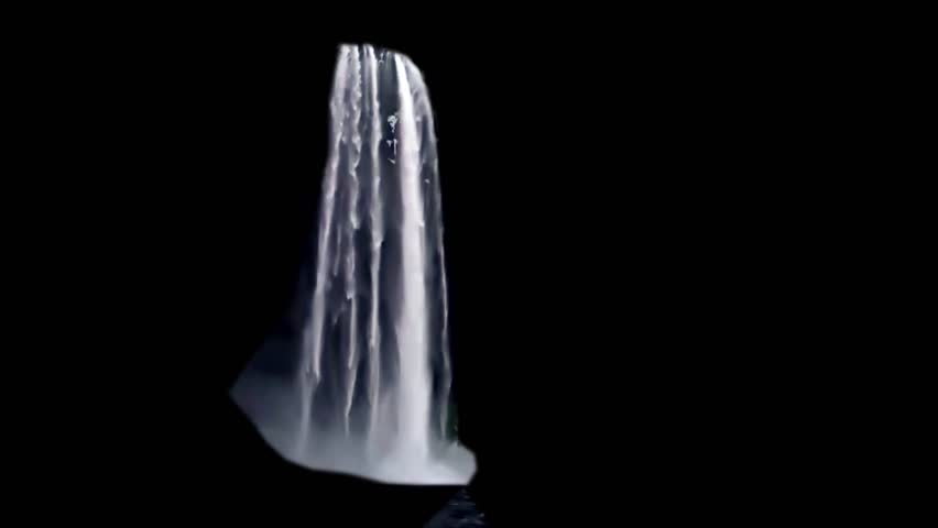 Real waterfall for vfx    Shutterstock HD Video #1027058714