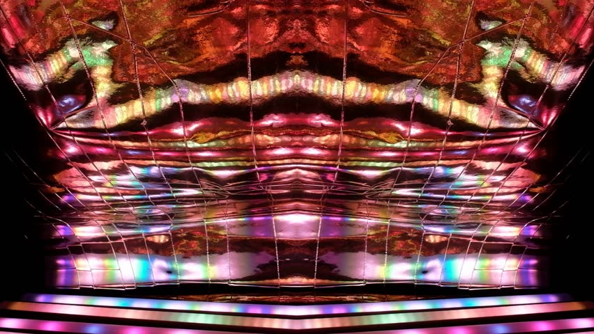 Abstract dynamic and exuberant lights on dark background | Shutterstock HD Video #1027071491