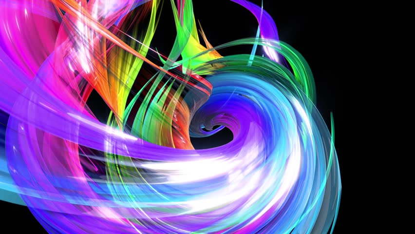 Looped 3d smooth animation of bright shiny ribbons curled in circle glitters like glass. Colorful stripes twist in a circular formation, move in a circle. Seamless creative background. Multicolored 12 | Shutterstock HD Video #1027107902