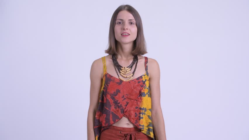 Young angry hipster woman talking and complaining | Shutterstock HD Video #1027111595