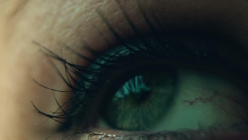 Eye Lash Close up shot slow motion beautiful girl   Shutterstock HD Video #1027158785