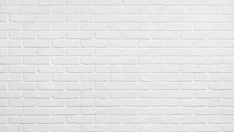 White Brick Wall Background Zoom Stock Footage Video 100 Royalty Free 1027092956 Shutterstock