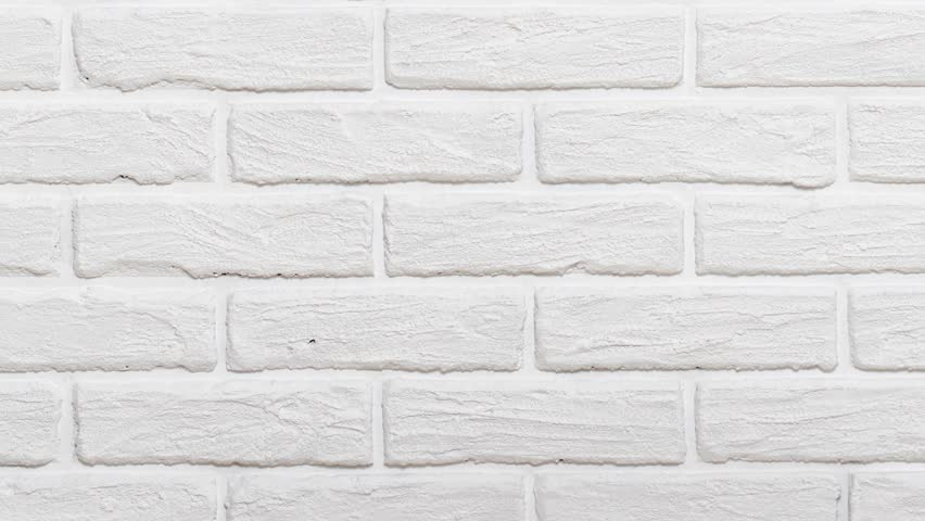 White Brick Wall Background Slide Stock Footage Video 100 Royalty Free 1027301429 Shutterstock