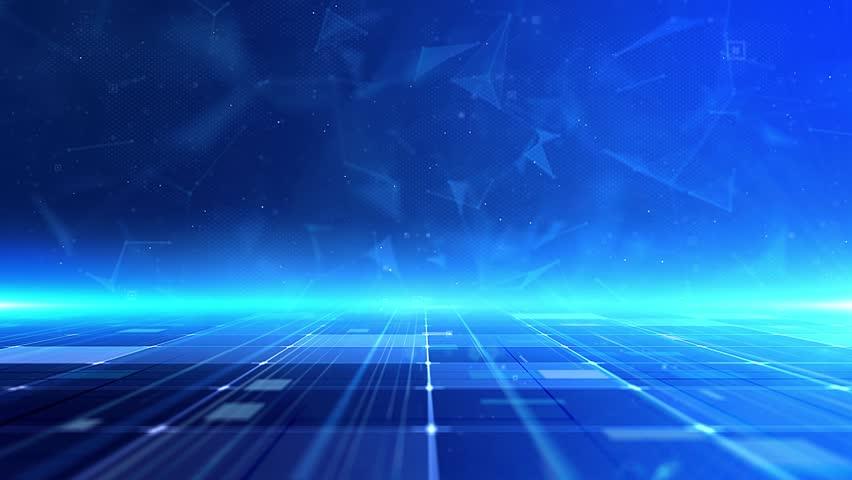 Blue Tech Plexue Line Background Stock Footage Video (100% Royalty-free)  1027419536 | Shutterstock