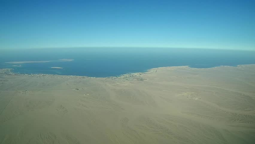 Aerial survey, Red sea, Hurghada, Egypt  | Shutterstock HD Video #10274816