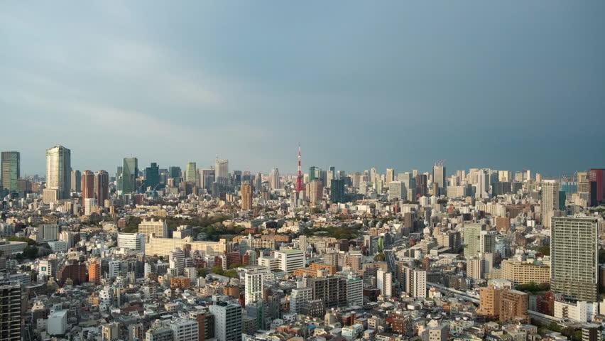 Tokyo city time lapse | Shutterstock HD Video #1027482245